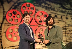 IIFTC Awards - Truls Kontny, President - EUFCN with Actor Akash Puri Jagannadh